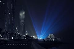 BLUE LIGHT (Explored) (puthoOr photOgraphy) Tags: qatar lightroom westbay d90 adobelightroom amazingqatar puthoor gettyimagehq