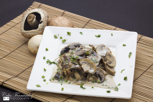Ragout of Mushrooms with Cream