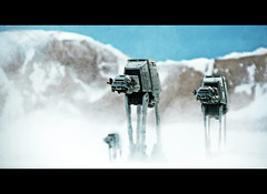 Star Wars: The Empire Strikes Back (RK*Pictures) Tags: white snow cold actionfigure starwars force power yoda action machine evil battle walker weapon micro empire jedi planet stormtrooper laser imperial strike lightsaber machines darthvader lukeskywalker blast atat leia hoth skywalker georgelucas obiwan kenobi theforce snowtrooper micromachines theempirestrikesback actionfleet allterrainarmoredtransport