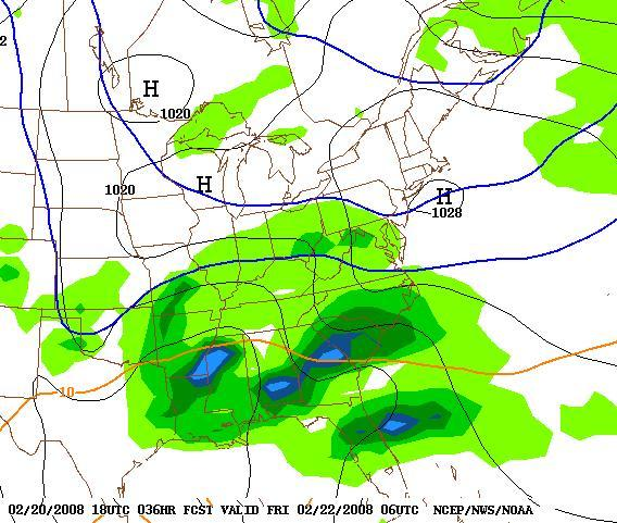 GFS 1AM Fri 2-22