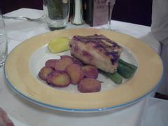 Fish dish at Flo, Toulouse, FR