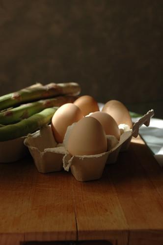 Uovo fresco & Asparagi!