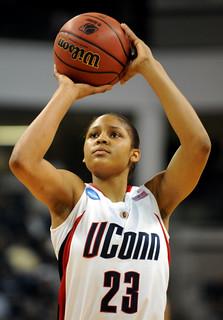 UCONN Freshman Maya Moore