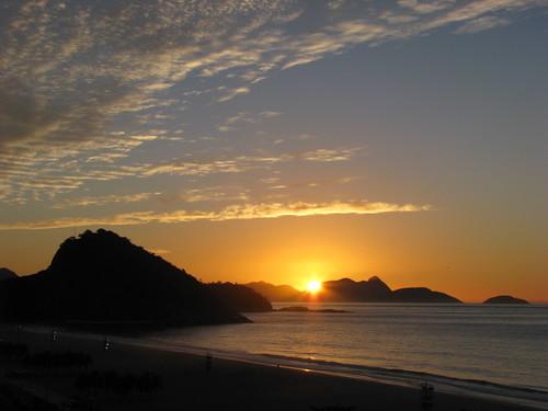 Amanecer en Río