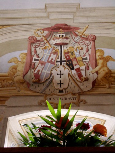 Fürtbischöfliches Wappen von Schönborn
