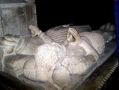 Gloucestershire Fairford - 3 husbands no issue (jmc4 - Church Explorer) Tags: church tomb gloucestershire tame parr effigy fairford denys beauchamp lygon dyrham buckler bucler powyke