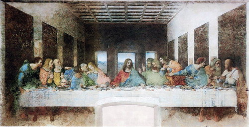 La Cène de Leonard de Vinci