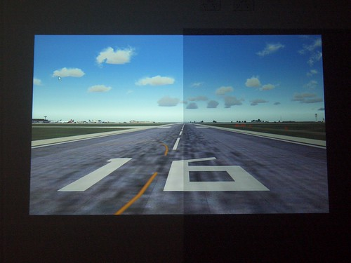 flight deck solutions view topic 50 projector paint tests