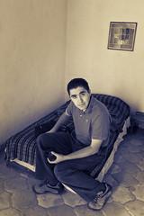 Fernando Bailón (Luis Montemayor) Tags: bed room frame cama cuarto realdecatorce cuadro sanluispotosi dflickr dflickr180307 fernandobailón