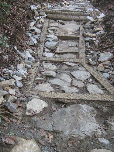 Appalachan Trail armoring( Burnt Mtn 04/08)