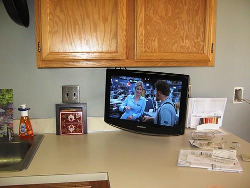 new kitchen tv
