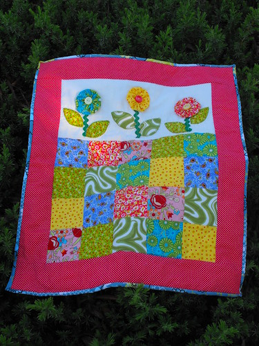 Flower Quilt for Four Seasons Quilt Swap