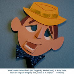 Stop-Motion Paper Puppet - Bing Crosby
