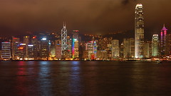 Hong Kong (kimshi) Tags: china hongkong lights skyscrapers lptowers kimbardoel