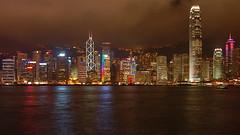 Hong Kong (kimshi) Tags: china hongkong lights skyscrapers lptowers ©kimbardoel