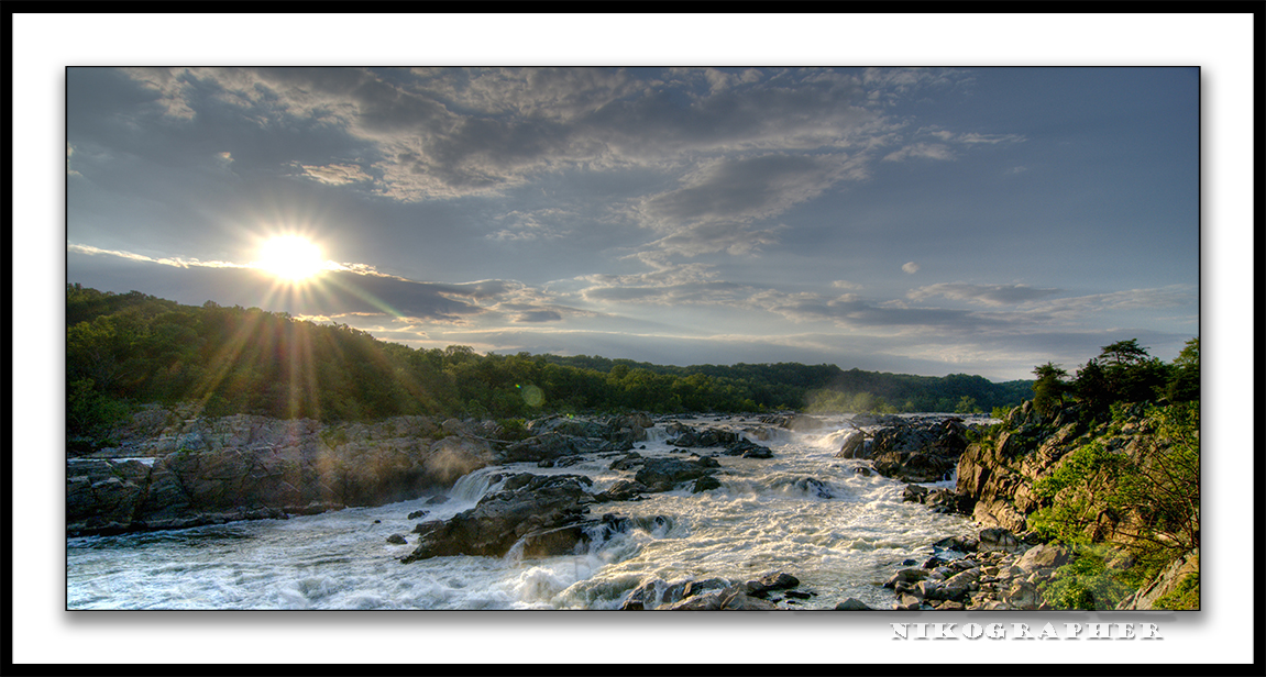 My Favorite Place Great Falls National Park (also D300 14bit RAW/HDR info)