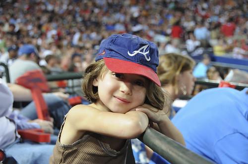 Braves Game Fan