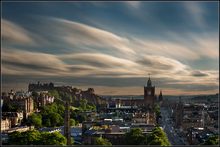 Edinburgh goes flying at the speed of sound