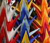 Origami Paper Cranes, Tokyo Temple, Japan