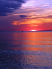 Lake Michigan (kevin dooley) Tags: eve blue sunset red favorite cloud white lake chicago west color water beautiful wow grey evening boat interesting fantastic colorful flickr pretty looking sundown flat very cloudy dusk good michigan ripple gorgeous air awesome horizon gray vivid award wave superior super surface best explore most pollution utata winner stunning excellent strong late much distance incredible breathtaking exciting phenomenal