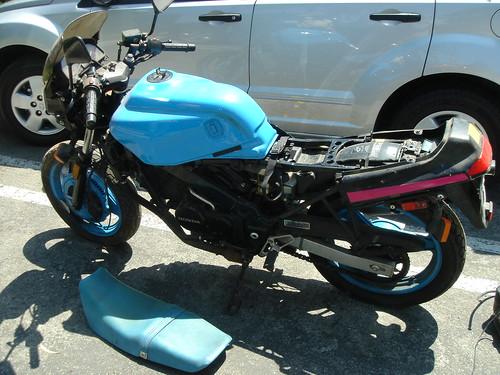 The bike in San Marcos, CA