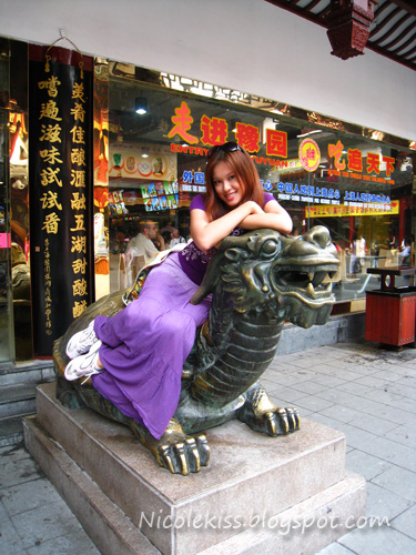 me riding a dragon