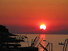 sunset in laura (cyberjani) Tags: sunset sea alps adriatic thisisnow oneofmypics
