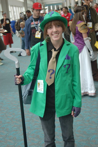 Comic Con 2008: Riddle me this