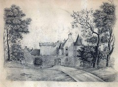Dalzell House as it looked c1800