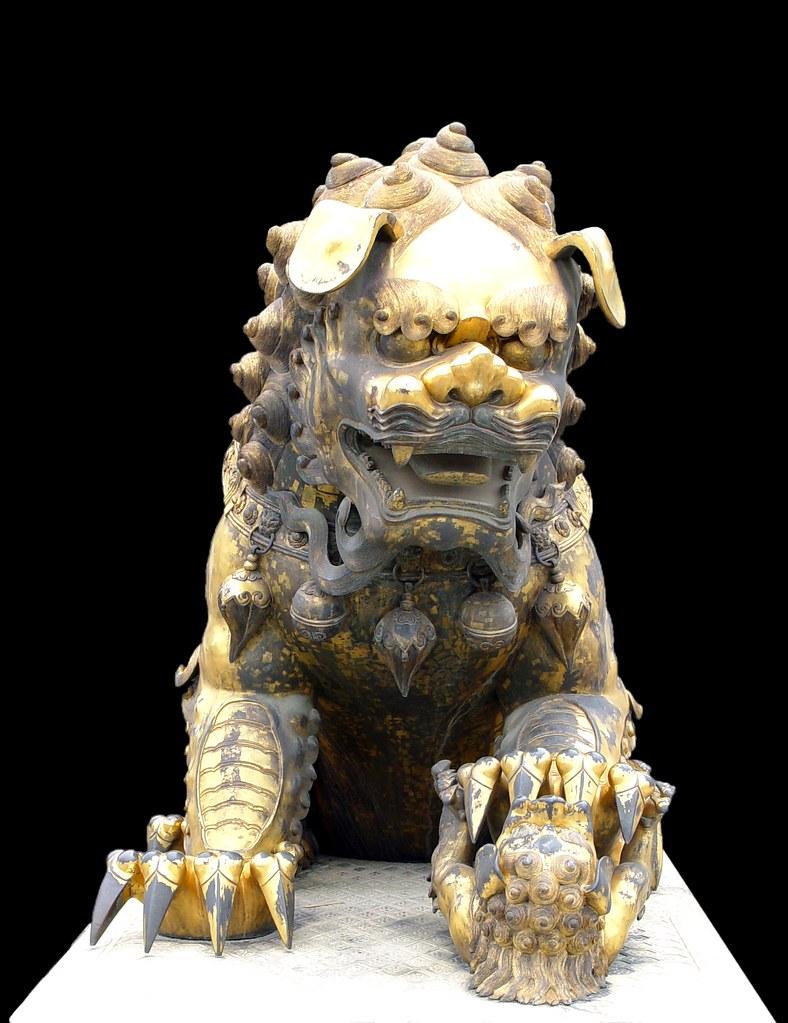故宮獅子2