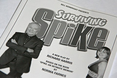 Surviving Spike programme cover, Edinburgh Festival Fringe 2008