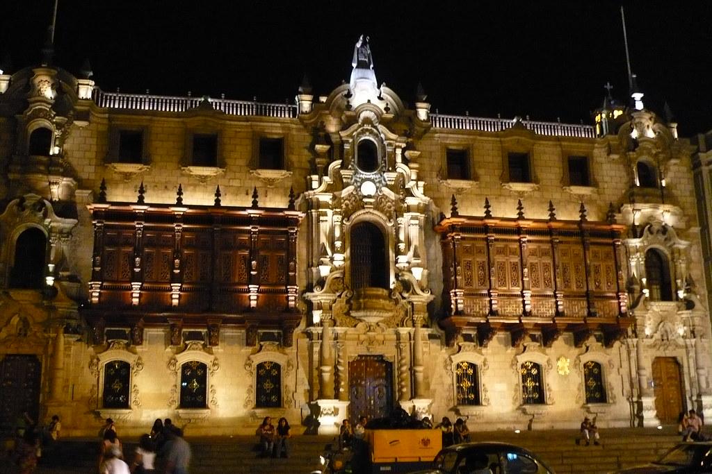 Balcones de la Catedral de Lima