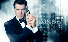 James Bond ... !! (Bally AlGharabally) Tags: wallpaper james design photographer designer bond pierce rai brendan 007 kuwaiti bally brosnan gharabally algharabally