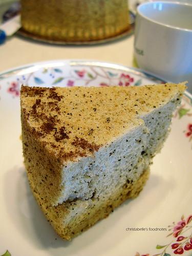 阿餅的伯爵戚風蛋糕
