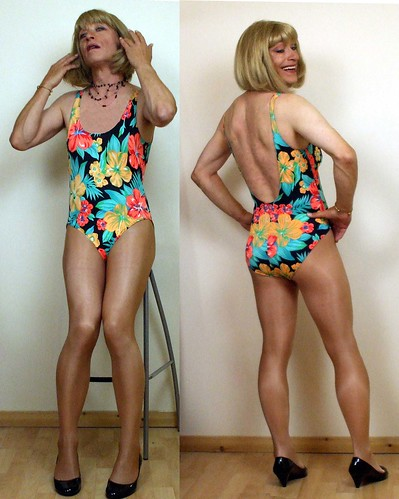 Bathing mature suit