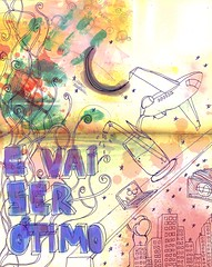 touch the sky (descala) Tags: moleskine ilustrao touchthesky