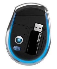 mouse Microsoft Blue Track