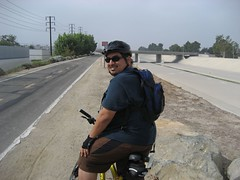 James on our 14-mile bike ride. (09/07/2008)