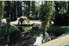 Rêverie... ( RêveOcéanOceanDream) Tags: europe jardin bretagne des scan pont loire reflets nantes plantes petit bassin atlantique agentique