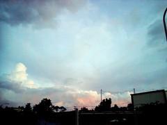 像冰淇淋的雲彩