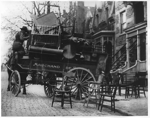 """Moving Day"", Montreal, QC, about 1930"
