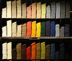 ソックスの色の並べ方一つでも売り上げが変わる