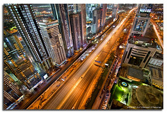 The Veins Of Dubai #1 (DanielKHC) Tags: longexposure urban night digital high nikon bravo dubai cityscape floor dynamic bladerunner top uae vein artery sheraton range dri increase hdr futuristic blending sheikhzayedroad d300 dynamicrangeincrease 8exp annpar danielcheong danielkhc tokina1116mmf28 gettyimagesmeandafrica1