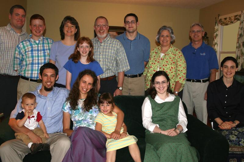 Shenandoah Valley Home Fellowship August 2008