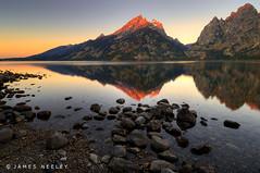First Light of Morning (James Neeley) Tags: sunrise landscape nikon tetons hdr grandtetonnationalpark d300 jennylake 5xp karmapotd karmapotw superaplus aplusphoto flickr7 jamesneeley