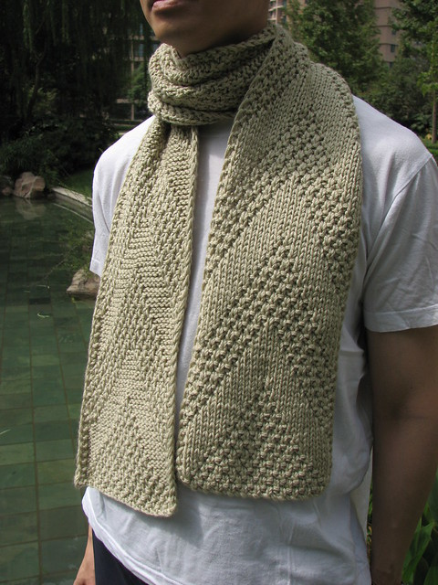 Knitting Scarves Patterns For Charity : Golden Triangle Knitting Guild: freebie patterns for our charity knitting: SCARF
