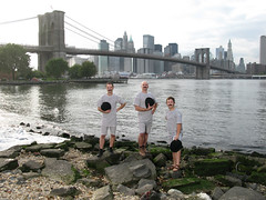 H20 Group on the bank of the East River in DUMBO