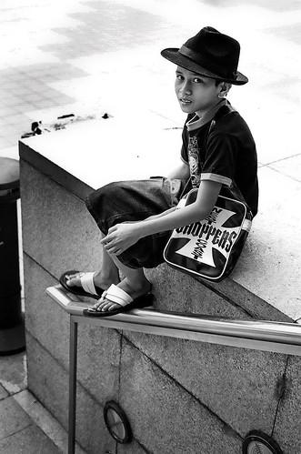 Boy at KLCC