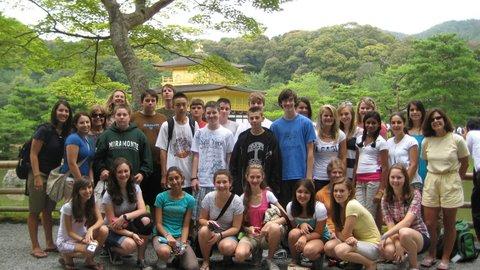 Seven Hills students in Tokyo
