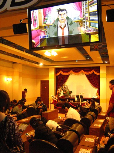People playing Gyakuten Kenji 2